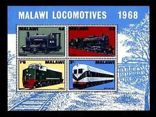 """MALAWI - BF - 1968 - Locomotive della """"Malawi Railways"""""""
