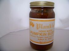 Planks Home Made Pumpkin Butter Spread Amish Country 8.5 OZ. Jar