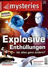 Zeitschrift MYSTERIES Nr. 3_2016 Explosive Enthüllungen; Merkels Strippenzieher