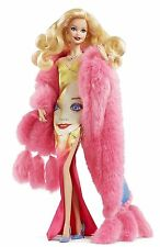 BARBIE® ANDY WARHOL® DOLL MATTEL BARBIE COLLECTOR GOLD LABEL DWF57 NUOVA