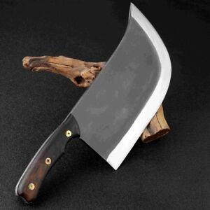 Super Big Heavy Handmade Knife 1364g 8.5 inch Hotel Kitchen Butcher Chef Tool