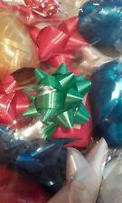 New Satin ribbon bow bows presents birthday christmas xmas wrapping LOOK