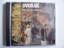 DVORAK-MELODIC MASTERWORKS-8 TRACK 1996 CD ALBUM- NEW and SEALED