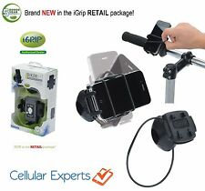 iGrip (HR) Bicycle, Motorcycle, Scooter Universal BIKER 7 Cell Phone Mount KIT