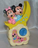 Mickey & Minnie Mouse Musical Melody Locks on  side of Baby Bed 1984 Disney