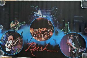 Rush 1979 poster ORIGINAL SLEEVE 22 x 34 RARE VINTAGE - MINT CONDITION!