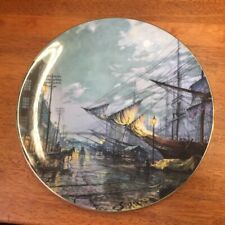 "Royal Doulton Ltd Ed Collector'S Plate ""Sailing With Tide "" Signed John Stobart"