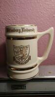 "Wittenberg University Vintage Mug With Good Trim 5 1/2"" High M20 Vintage"