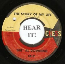 """""""Big"""" Al Downing R&B SOUL 45 (Chess 1817) The Story Of My Life /I'd Love To Be"""