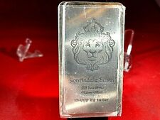 """10 OZ""""SCOTTSDALE""""SILVER BAR,WAT UC/UGET,#19181847 YNOT BUY THE BEST4LESS"""