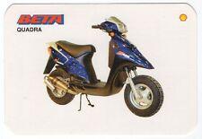 1995 Shell Abol Motos Portugese Pocket Calendar Beta Quadra Motorcycle
