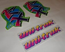 DECAL SET STICKERS GRAPHICS KAWASAKI KX 125 1990-92!FREE SHIPPING!
