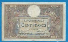 Gertbrolen  100 FRANCS ( LUC OLIVIER MERSON )  du 12-4-1920   O.6998