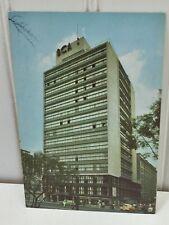 Hotel Bamer Alameda Park Mexico City Postcard Vintage 23302