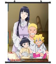 Naruto Hinata Anime Manga wall Poster Scroll 21*30cm