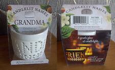 Unbranded Heart Candle & Tea Light Holder Sets