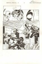 Deadpool: The Gauntlet #5 p.3 - Deadpool vs. Blade - 2014 art by Reilly Brown