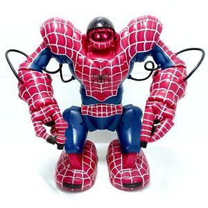 "2006 Marvel Spiderman Spidersapien Robosapien Large 14"" Robot Toy NO CONTROLLER"