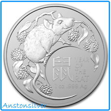 2020 Lunar Year of the Rat - 1 oz Silver - Royal Australian Mint