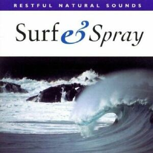 SURF & SPRAY  RESTFUL NATURAL SOUNDS CD - GOOD CONDITION