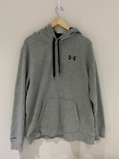 04 Under Armour Grey Mens Hoodie UK Size L