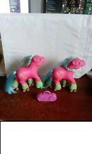 My Little Pony G1 Euro 2 x ROLLER SKATES PONY Melody #geektradeponeyg1