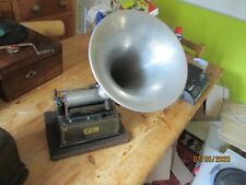 A very good  working Edison Gem cylinder phonograph with horn