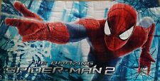 MARVEL SPIDER MAN BOYS kIDS BEACH, BATH TOWEL SWIMMING, 70 x 140 Red, Blue, GIFT