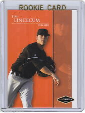 LP~RC~TIM LINCECUM 2006 Justifiable ROOKIE CARD~'06~WORLD SERIES~CY YOUNG~GIANTS