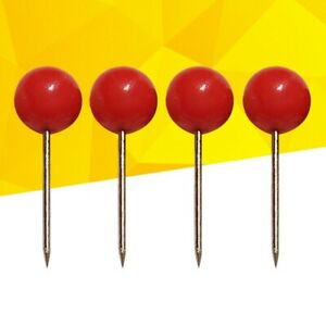 Carp, Cat, Fishing Hair Rig safe spare Stainless Pins for peg board, wallet, Red