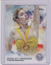 2014 TOPPS OLYMPIC ASHLEY WAGNER SILVER CARD #89 ~ FIGURE SKATING ~ MULTIPLES