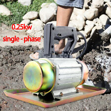 Hand-Held Troweling Concrete Vibrator Vibrating Trowelling Machine 110V 0.25Kw