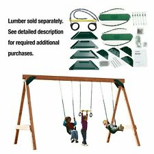 Play Set Hardware Kit Playground Outdoor Swing Seats Set Backyard Kids Children
