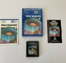 Atari 2600 Space Invaders Boxed