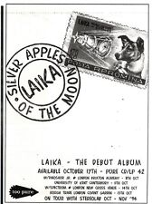 "NEWSPAPER CLIPPING/ADVERT 1/10/94PGN37 7X5"" LAIKA : SILVER APPLES OF THE MOON"