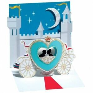 Pop-Up Greeting Card Trearures by Up With Paper -  Castle Romance
