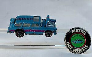 Hot Wheels Redline Mattel 1969 Classic Nomad Survivor car with tab