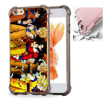 For iPhone X 6 7 8 Phone Case Cover Goku - 5 levels of transformations #8082