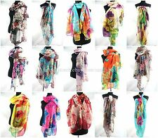 100pc wholesale beach wrap dress retro floral vintage boho large scarf sarong