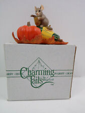 Vintage Charming Tails By Dean Griff Frosting Pumpkins Figurines