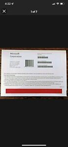 Microsoft Win Pro 10 64Bit Eng 1pk DSP OEI DVD X21-06988 Fqc-08929 Sealed
