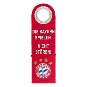 FC Bayern München Türanhänger Türhänger Filz Logo offizielles Lizenzprodukt