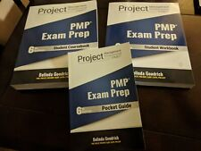 PMBOK PMI Test PMP Exam Prep set (3 books) - 6th edition by Belinda Goodrich