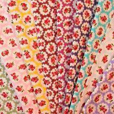 Less than 1 Metre Half Meter Flowers & Plants Craft Fabrics