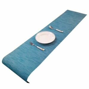 """Stripe Dustproof Table Runner for Wedding Party Holiday Home Decor 11.81""""x70.87"""""""