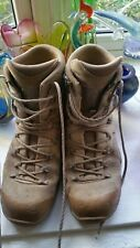 MENS MILITARY ISSUE LOWA DESERT BOOTS SIZE 10