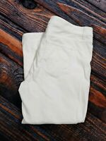 "Sonoma LIfe & Style Womens Size 12 Inseam 25"" White Capris Jeans Stretch"