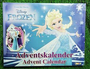 Graze Disney Frozen Film Adventskalender mit 3D Specials Eiskönigin Versand 0€