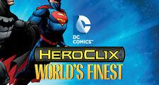 HEROCLIX WORLD'S FINEST Robotman 005  Elasti-Girl 035 (Doom Patrol)