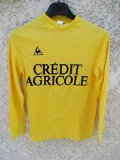 Maillot LE COQ SPORTIF vintage Crédit Agricole 80's shirt trikot camiseta 0x1 XS